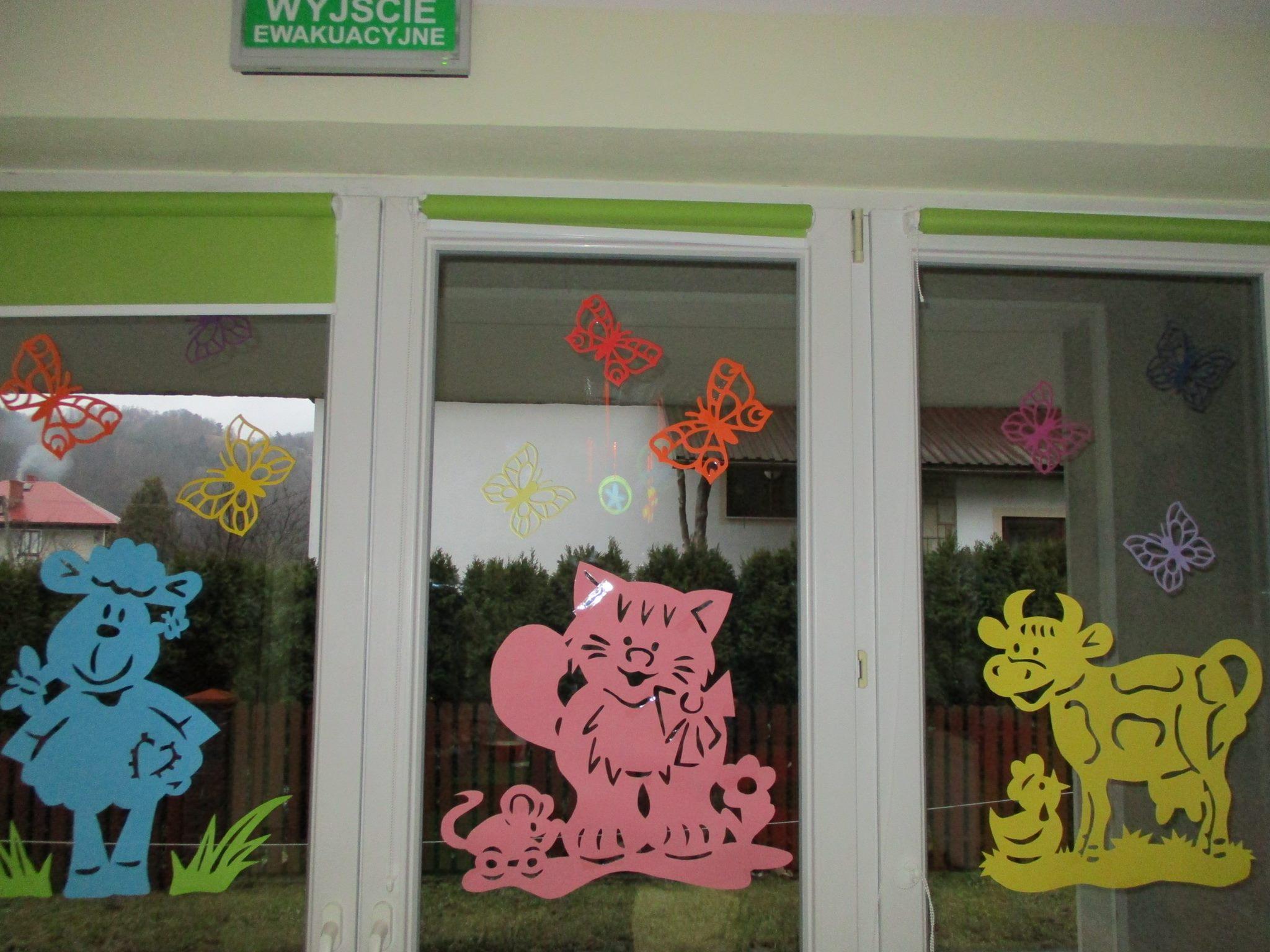 Dekoracja Wiosenna Przedszkole Słoneczko Limanowa