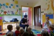 Wizyta policjantki