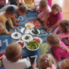 Tydzień kulinarny w grupie Średniaczków