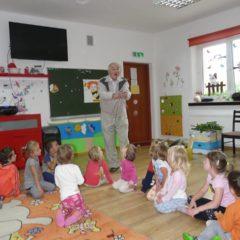 Wizyta Pszczelarza w naszym przedszkolu